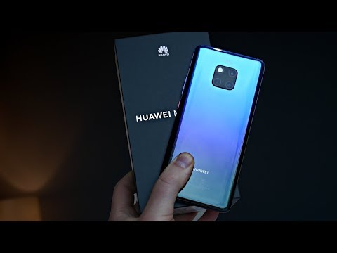Huawei Mate 20 Pro Unboxing (Twilight)