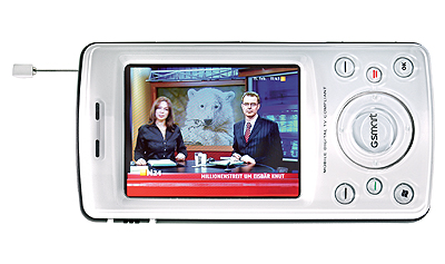 DVB-T Gigabyte Pearl Smartphone