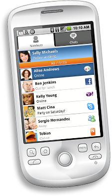 Android ICQ Messenger Skype