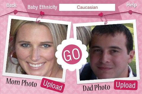 wie wird das baby aussehen app