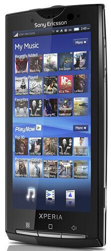 Android Sony Ericsson x10