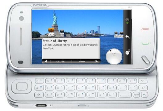 AR Augmented-Reality n97 Nokia Symbian