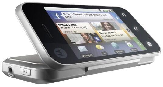 Android backflip Motorola
