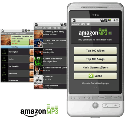 Android MP3 Musik