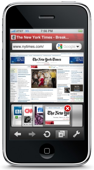 Browser iOS