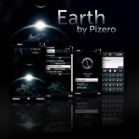 Benutzeroberfläche Symbian