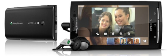 Android Sony Ericsson x10 Xperia