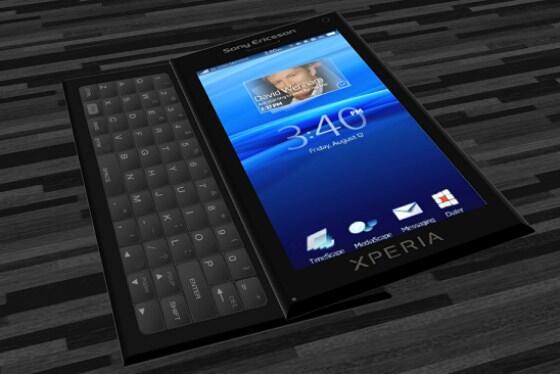 Android Konzept Smartphone Sony Ericsson x10 Xperia