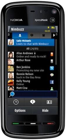 IM Messenger nimbuzz Symbian