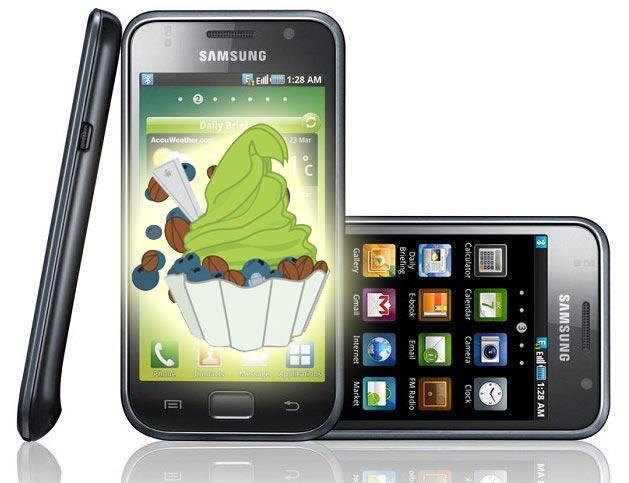 Froyo Galaxy S Samsung source Update