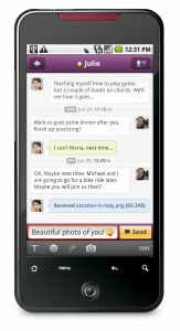 5 app html iOS mail Messenger Yahoo!
