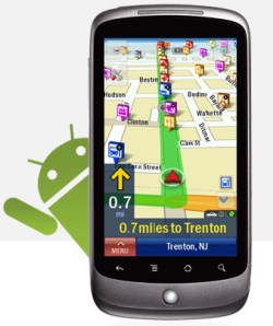 Android copilot Froyo Navigation-2