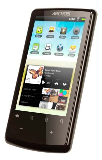 Android Archos Froyo iPod Musik Touch