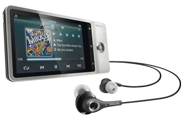 philips ver ffentlich android mp3 player mit gps. Black Bedroom Furniture Sets. Home Design Ideas