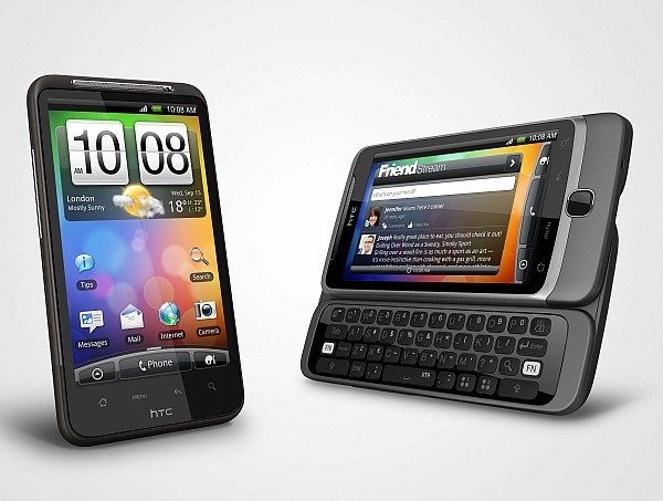 Android desire hd desire z HTC Sense