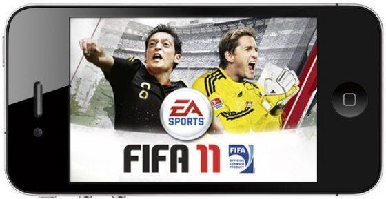 fifa fussball iOS Spielerei