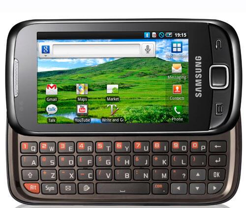 551 Android QWERTZ Samsung Smartphone