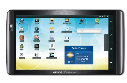 Android Archos Froyo Tablets Update