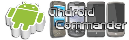Android app Commander Dateisysteme System