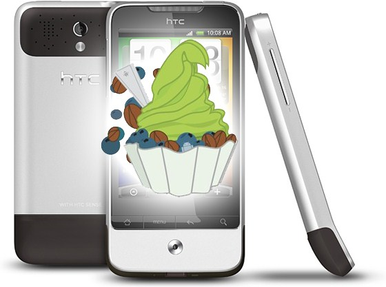Android Froyo HTC Legend ota Update