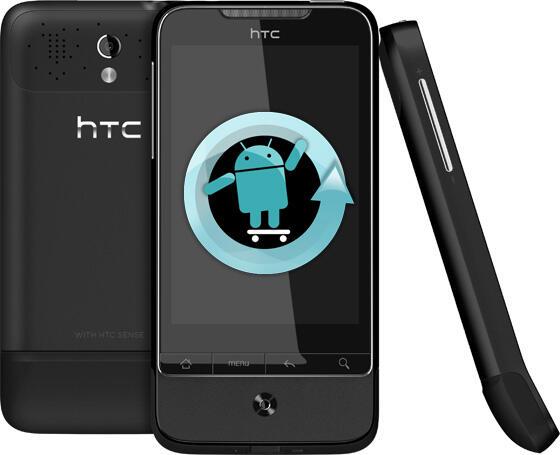 Android Cyanogenmod hacking HTC Legend modding