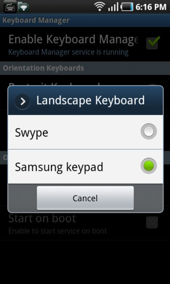 Android Devs & Geeks Eingabe Handytastatur root swype Tastatur