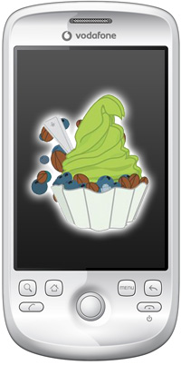 Android Froyo Magic manuell Update