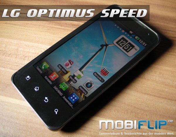 LG P990 OPTIMUS Speed ab sofort bei Vodafone erhältlich ...