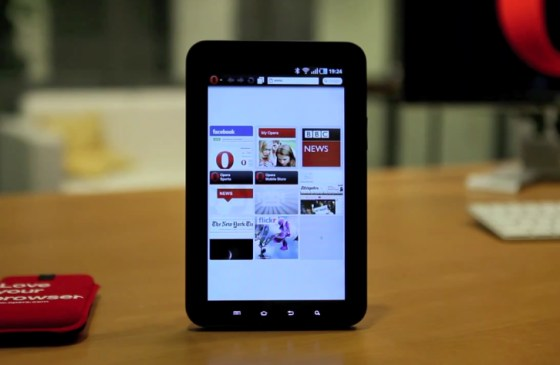 Android Browser galaxy tab Opera Tablets