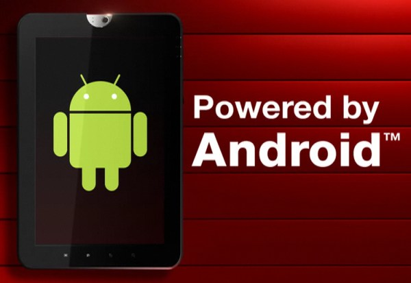 Android Tablets Tegra 2 Toshiba webseite