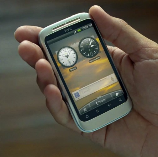 Android clip HTC Leak Video wildfire