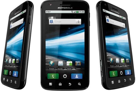 Android atrix Motorola Update