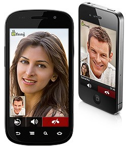 Android app chat fring IM Video