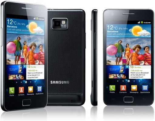 Android galaxy s 2 MWC Samsung