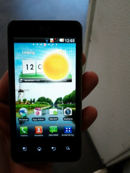 Galerie » LG P990 OPTIMUS Speed ab sofort bei Vodafone ...