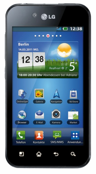 Android Firmware LG optimus black p970 Update