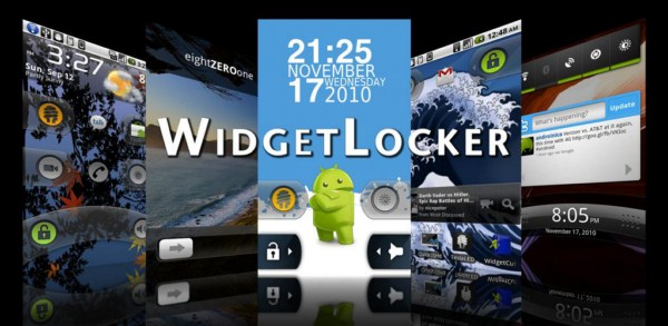 Android app lockscreen System Tool widget