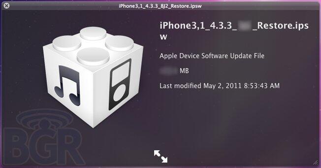 Apple ios 4.3.3 tracking