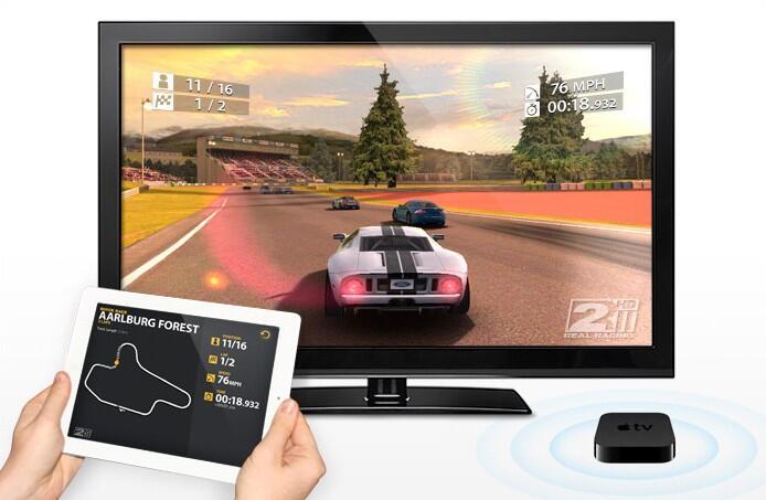 airplay Apple iPad 2 iphone 5 mirroring Spiele TV Video