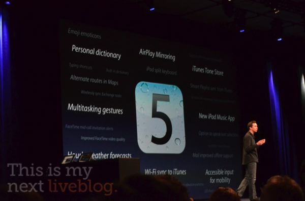 2011 Apple iOS iPad iphone keynote Steve Jobs WWDC
