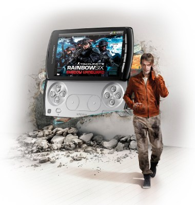 aktion Android games play Sony Ericsson Spiele xperia play