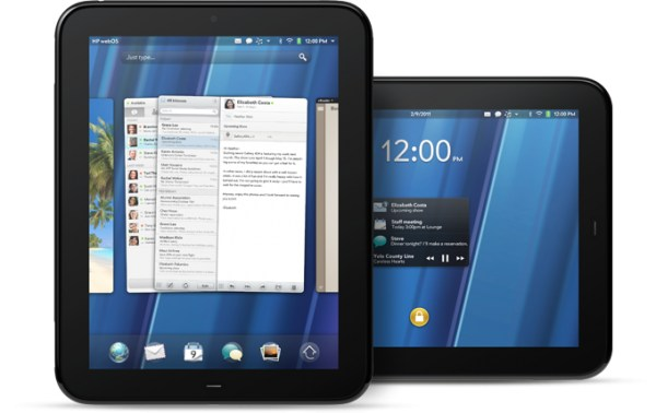 HP tablet touchpad webOS