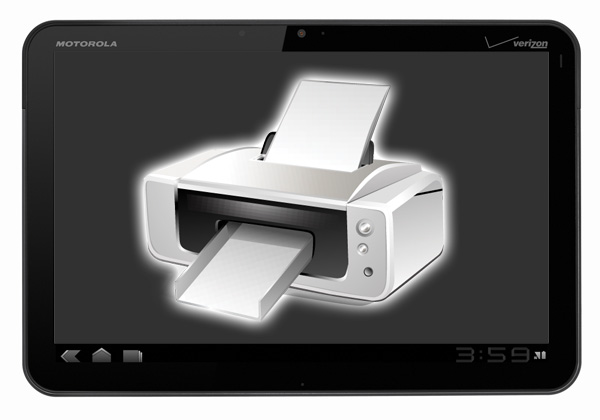 Android drucken Honeycomb print System Tools