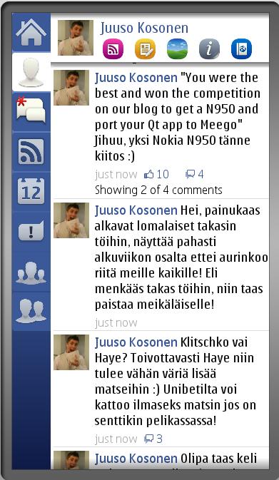 app beta facebook Symbian
