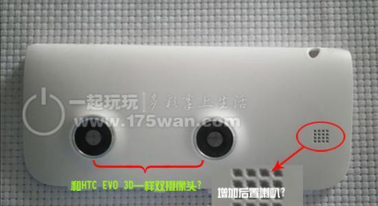 3D Android Flyer Gerücht HTC Leak