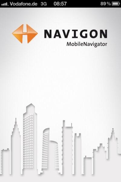 Apple iOS iphone navigation navigon