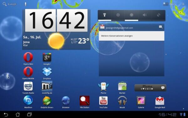 Android apk galaxy tab Honeycomb Leak live wallpaper lwp Samsung