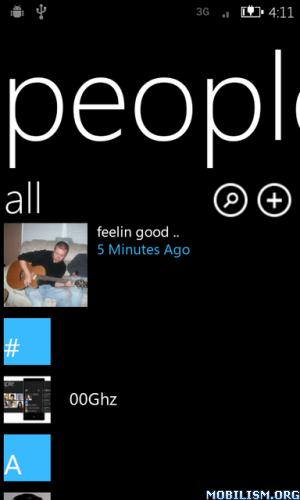 Android dialer Kontakte Windows Phone