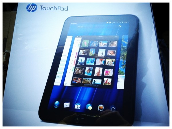 HP tablet webOS Windows