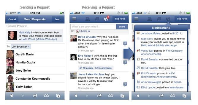 app Apple facebook HTML5 iOS iPad project spartan